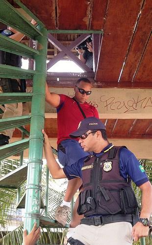 Juiz vai interrogar por videoconferência policial federal que matou vigilante, policia federal Carlos André cOSTA