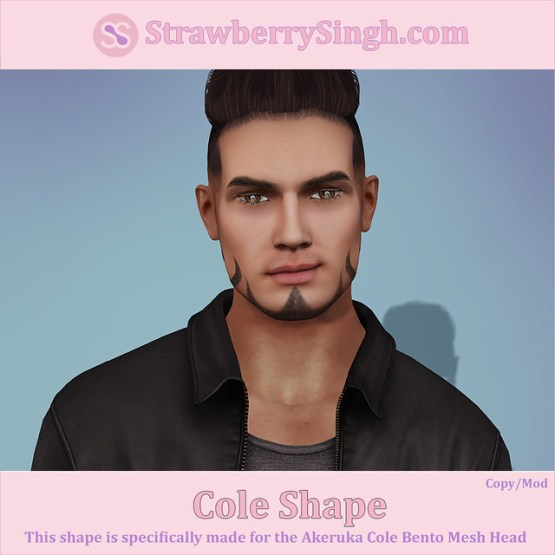 StrawberrySingh.com Cole Shape