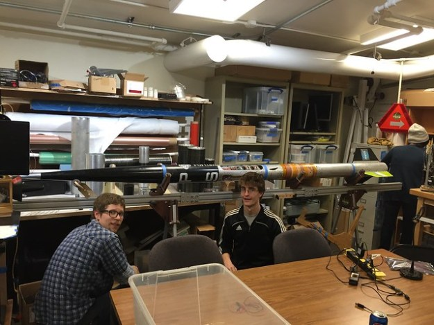 J. Visits the Portland State Aerospace Society