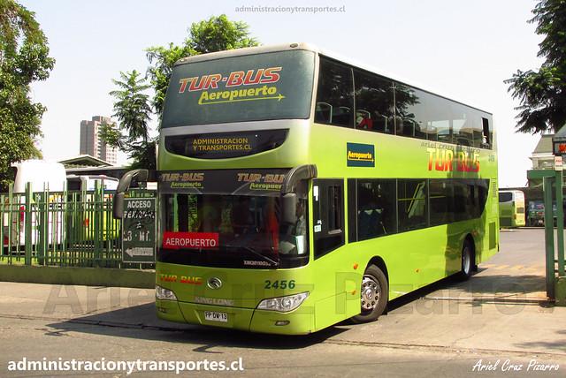 Tur Bus Aeropuerto | Terminal Alameda | King Long XMQ6110GS2 / FPDW13 - 2456