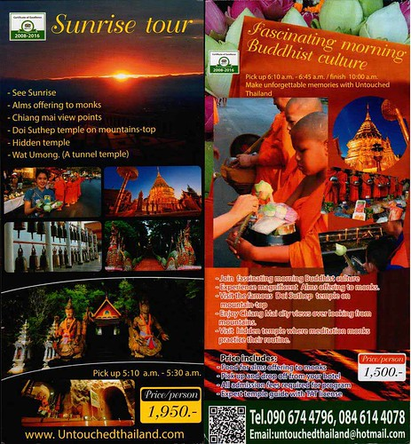 Brochure Untouched Thailand Chiang Mai Thailand 1