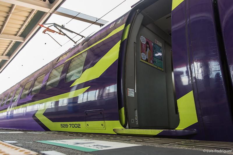 Shinkansen de Evangelion