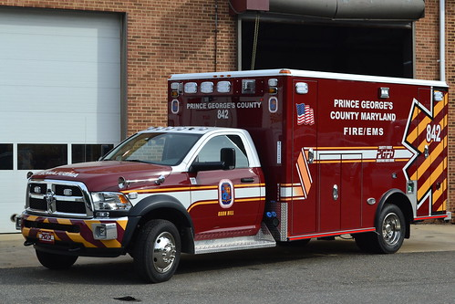Prince George's County Fire/EMS Department Ambulance 842 ...