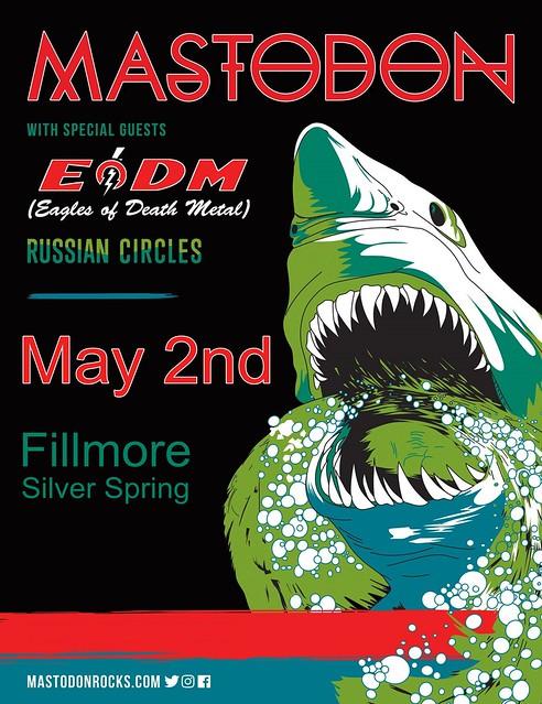 Mastodon at the Fillmore Silver Spring