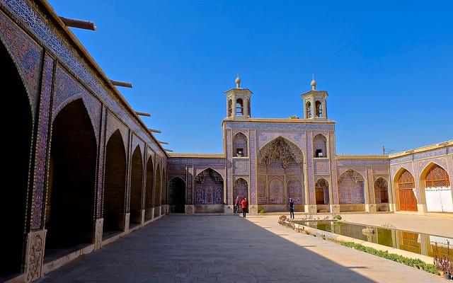 NASIR OL MOLK MOSQUE, SHIRAZ, IRAN