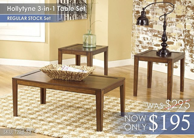 Hollytyne 3-in-1 Table Set T228-13