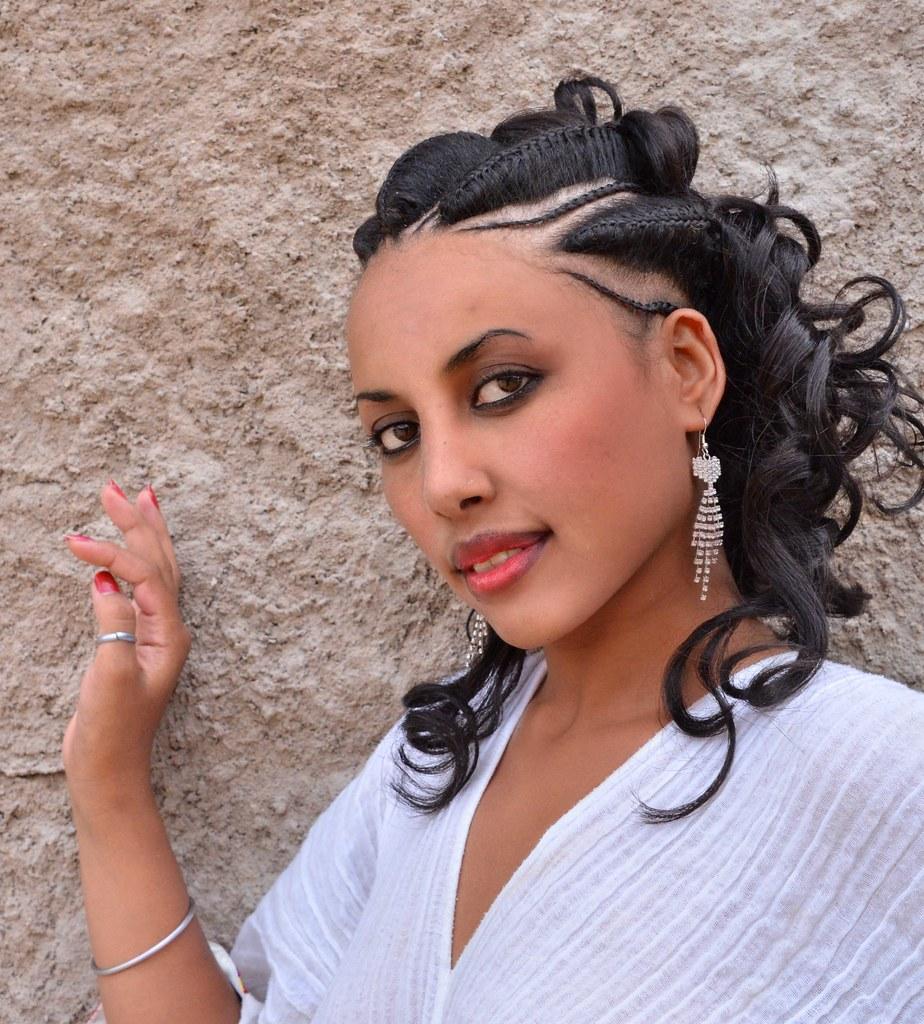 Traditional Hairstyle Tigray Ethiopia Rod Waddington