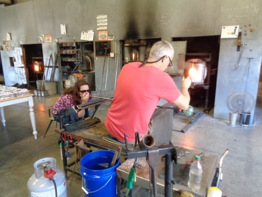 Orbix Hot Glass: Glass Ornament Blowing Class
