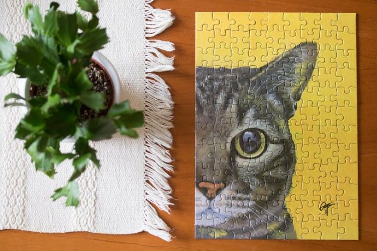 Puzzle cat - reaktionista.se