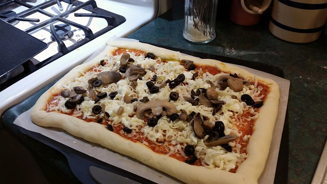 Dinner : ready for the oven
