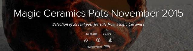 Magic Ceramics - Accent Pots (1/6)