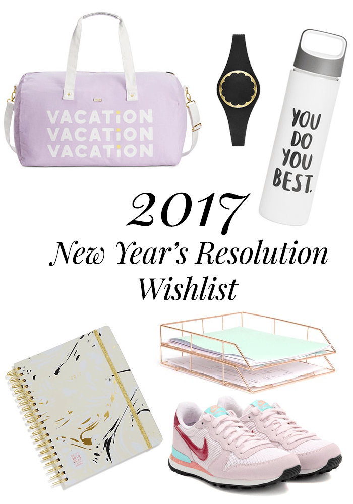 2017 resolution wishlist