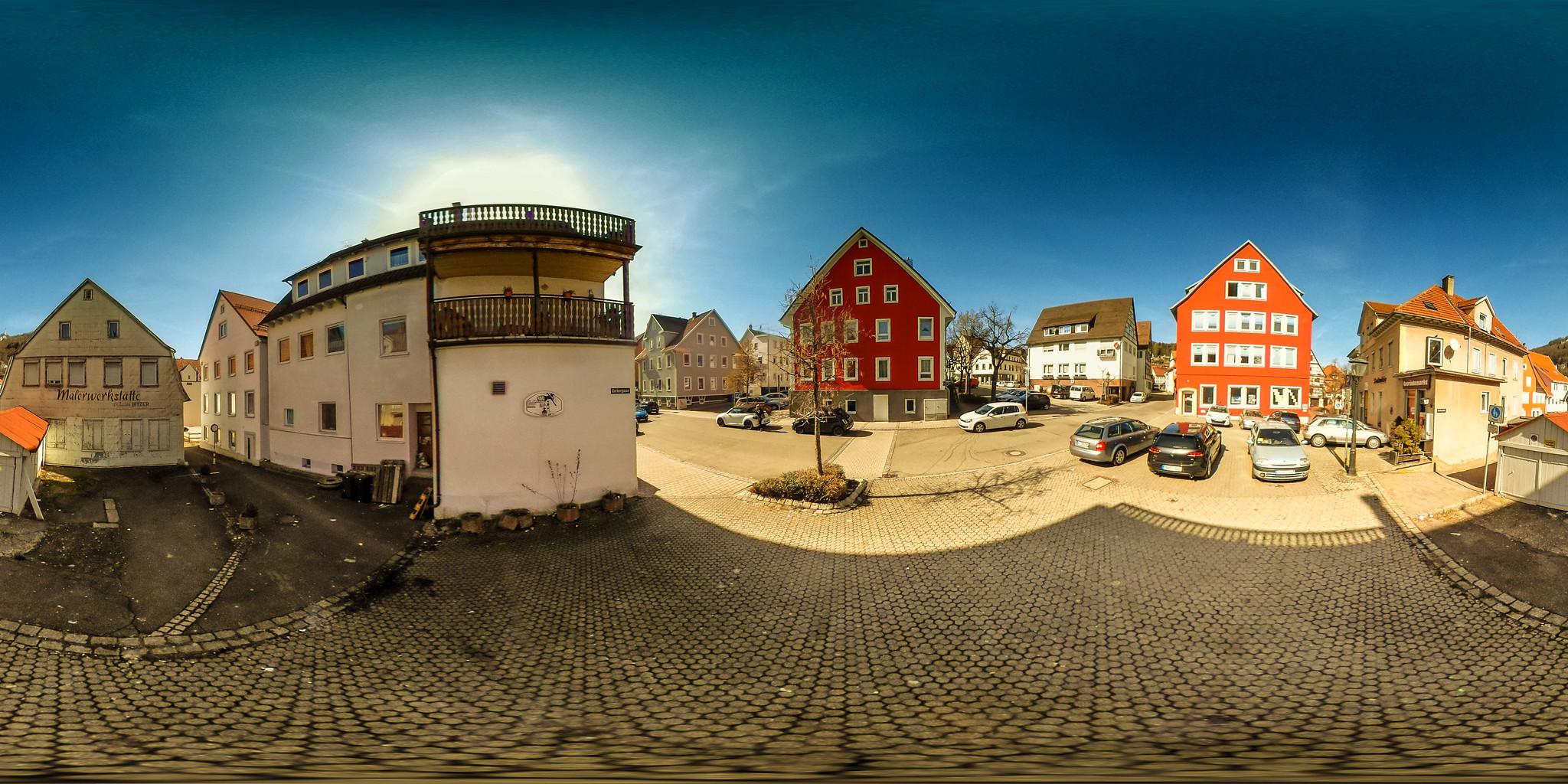 Landgraben, Ecke Gerbergasse