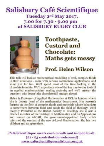 Poster for Prof. Helen Wilson