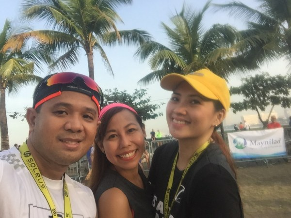 It was nice seeing Inja and Cindy after the race
