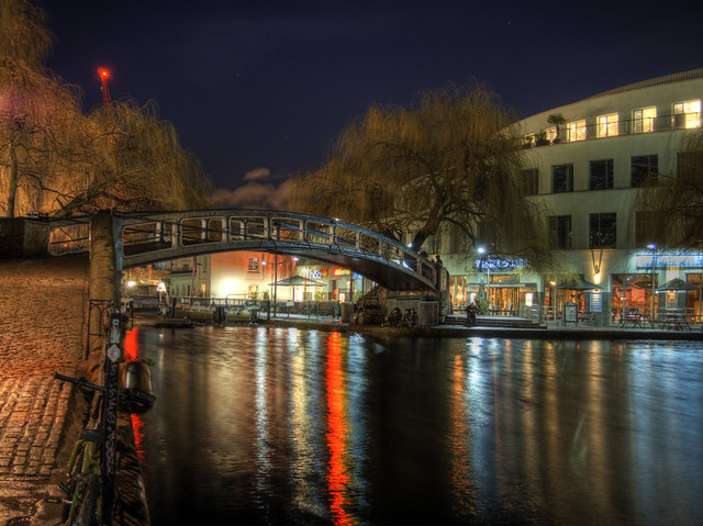 Bridge over the Regent's Canal at Camden Locks