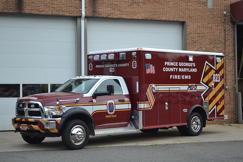 Prince George's County Fire/EMS Department Paramedic Ambul ...
