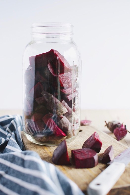 fermented sour beets