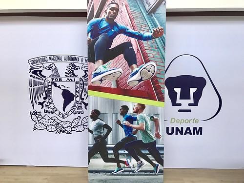 Nike en la UNAM