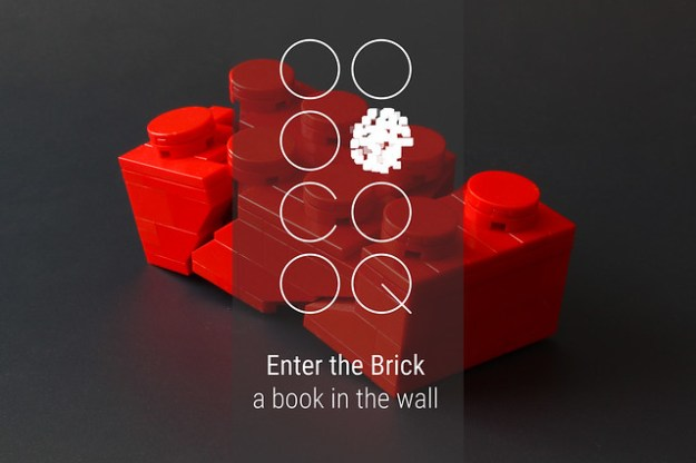 Kickstarter - A book in the wall