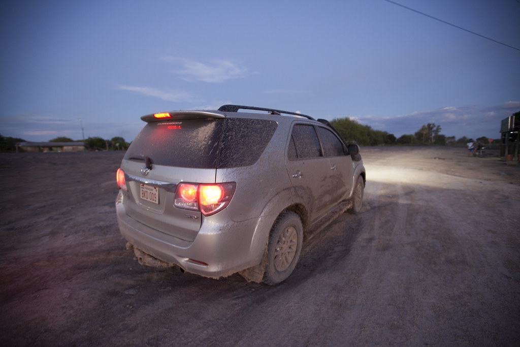 Our mud-covered 4Runner