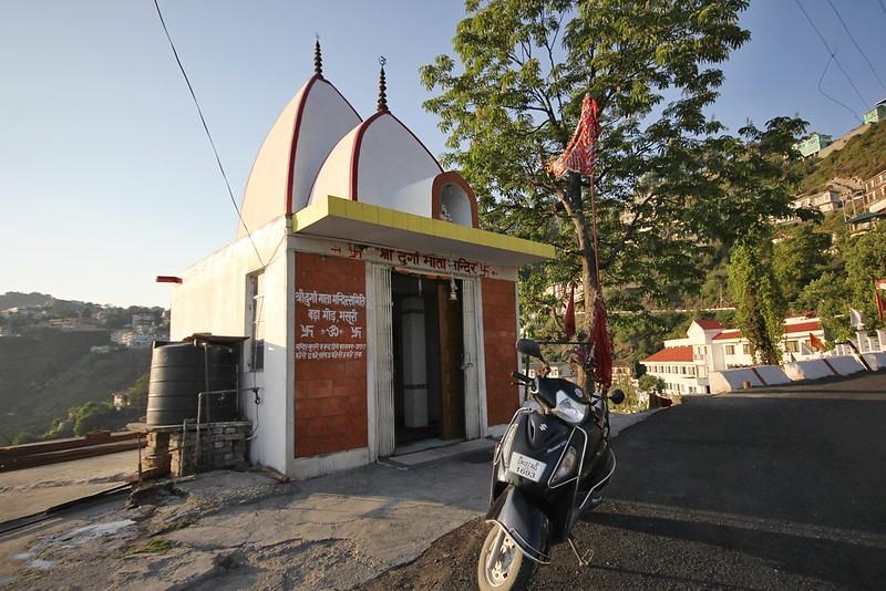 Durga Mandir near Hotel Ever Green, Mussoorie