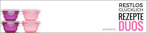 Blog-Event CXXVII - Restlos gluecklich -Rezepte-Duos (Einsendeschluss 15. Februar 2017)