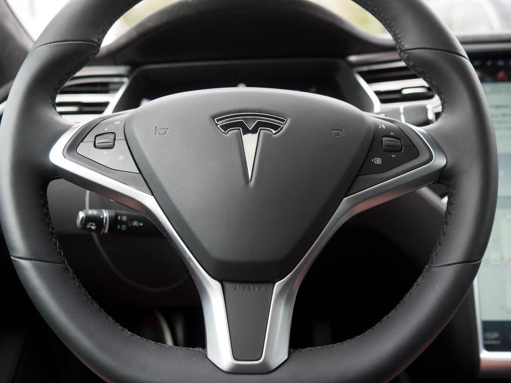 Tesla Model S Steering Wheel Day 7 Of 50 Like Many