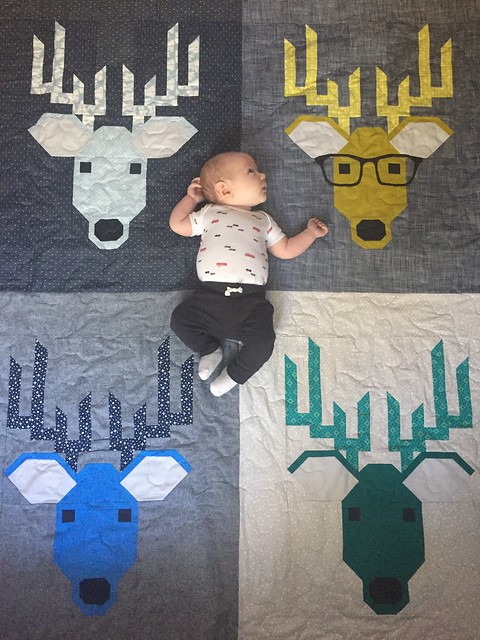 Brayden and Deer Quilt