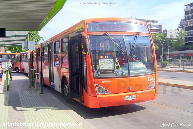 Transantiago C11 | Redbus | Caio Millenium - Mercedes Benz / SW6460