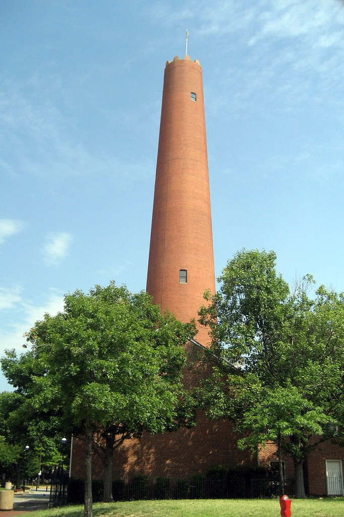 Baltimore Phoenix Shot Tower The Phoenix Shot Tower