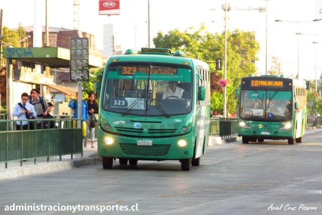 Transantiago 323 | Buses Vule | Busscar Micruss - Mercedes Benz / BJFP21