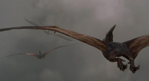 Pteranodons Jurassic Park 3