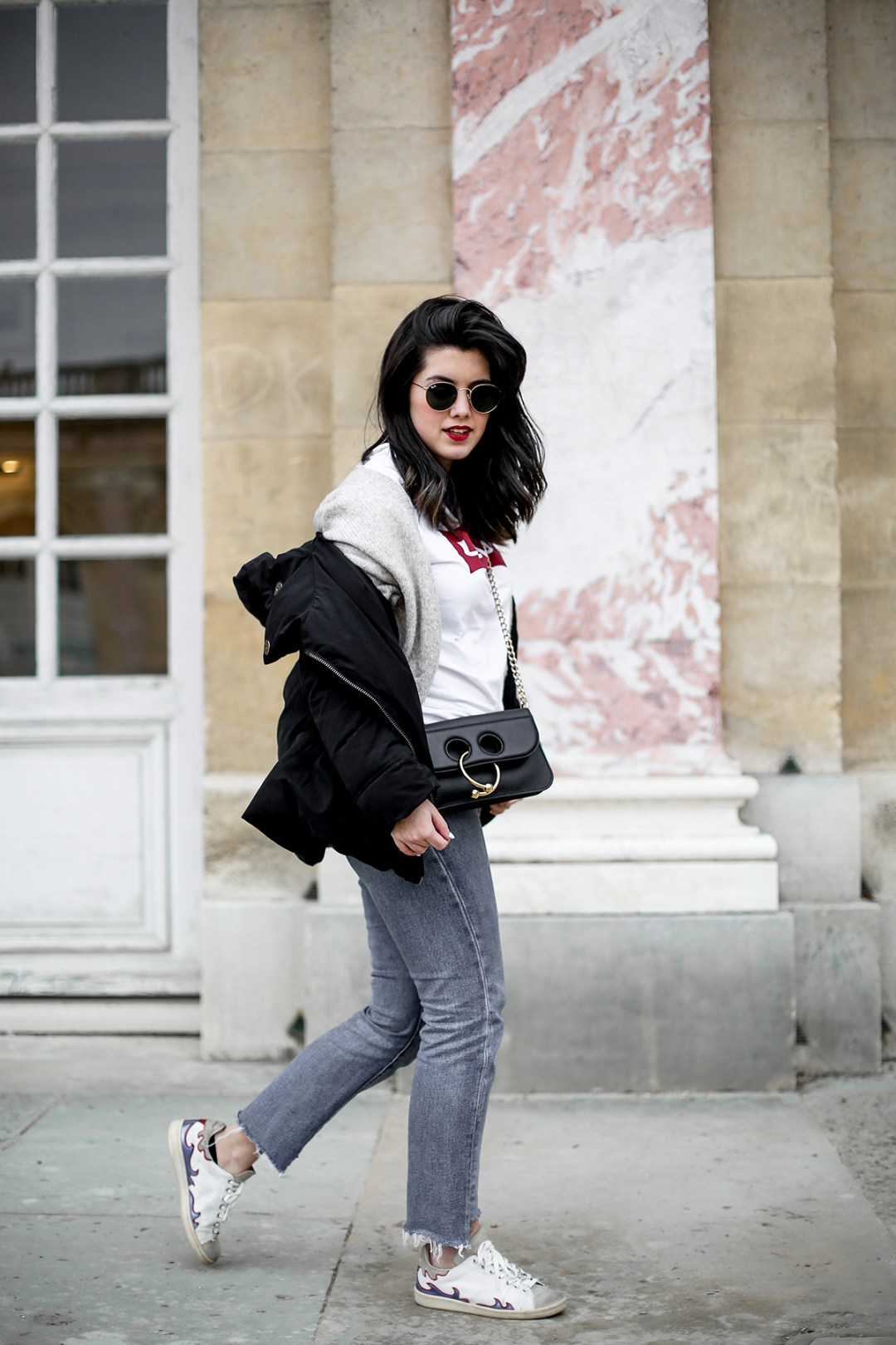 puffer-coat-levis-shirt-basic-505c-jeans-jw-anderson-pierce-bag-how-to-wear3