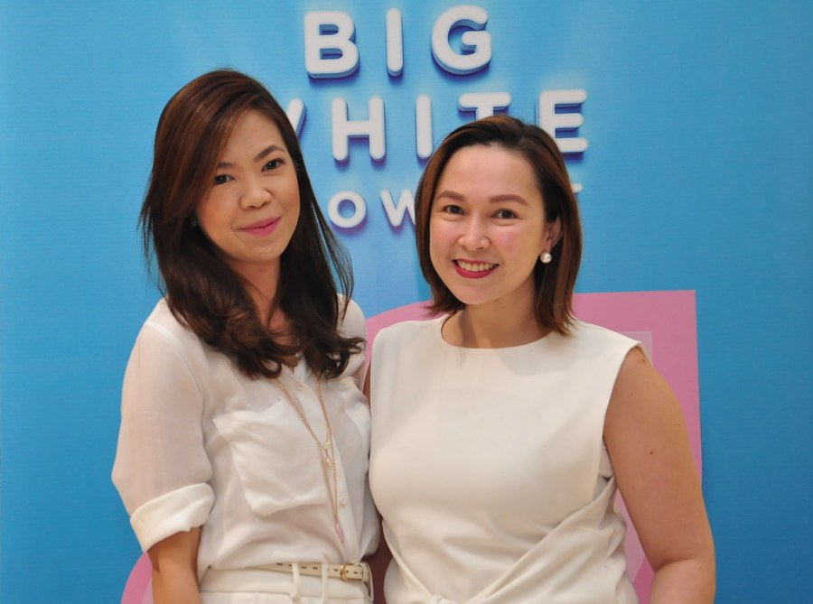 Watsons Group Marketing Manager Karen Fabres and Watsons Group Category Manager for Skin Care Kim Reyes