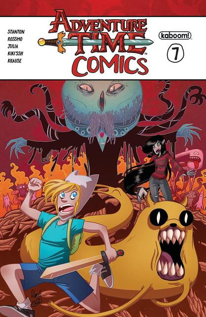 31928454570_2a1437af4e_z ComicList Preview: ADVENTURE TIME COMICS #7
