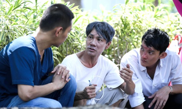 Wang Lei and Gadrick Chin each have a little history with the law. (Credit: Golden Village Pictures)