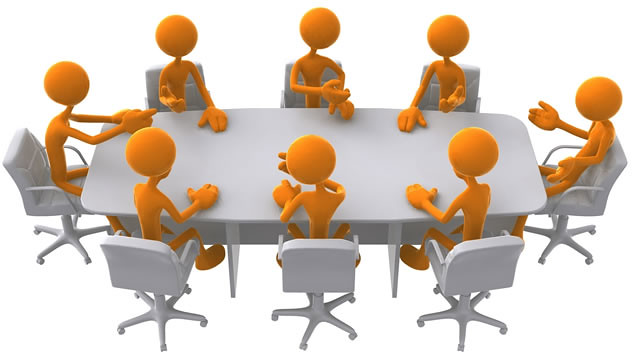 Ilustrasi rapat Pleno KPU Tulungagung