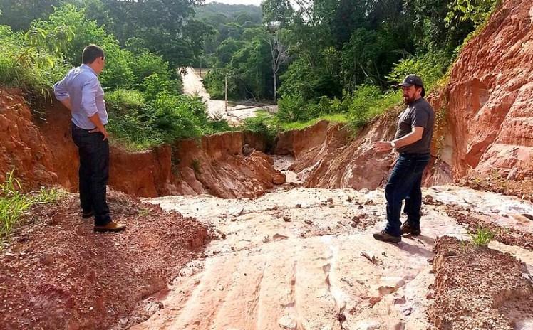 Nélio decide hoje se decreta estado de emergência em Santarém, Vicinal do Eixo Forte