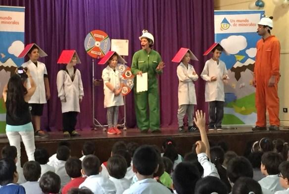 """Proyecto Educativo """"Un Mundo de Minerales"""""""