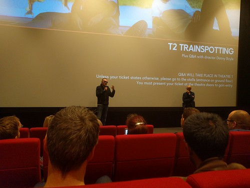 T2 Trainspotting with Danny Boyle at HomeMCR