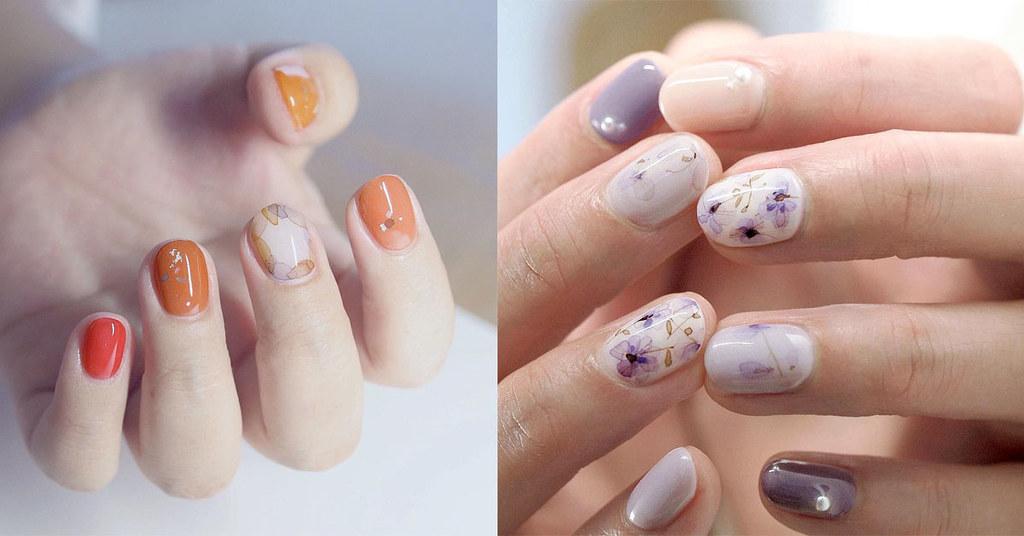 ♥ 暈染指甲的魅力!指上的創意畫布 1