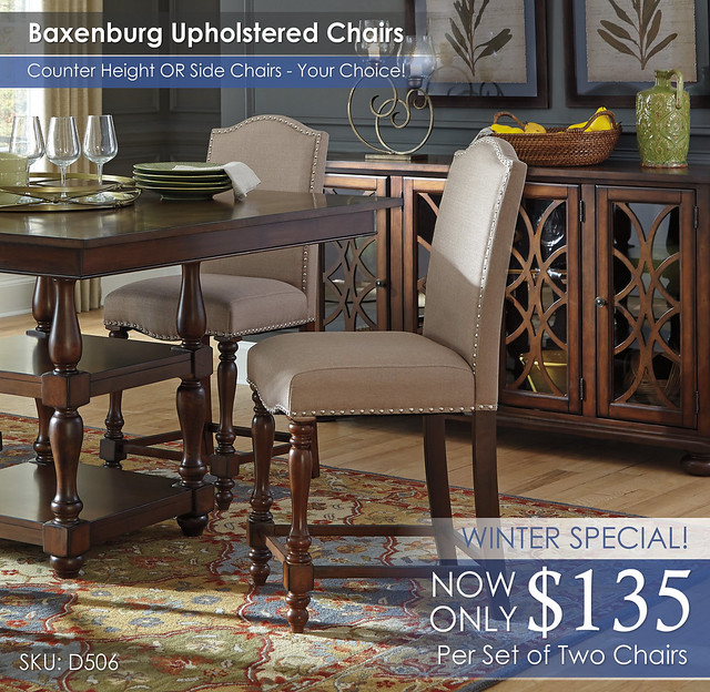 Baxenburg Upholstered Chairs D506