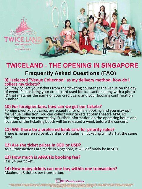 TWICELAND - The Opening – in Singapore FAQ3