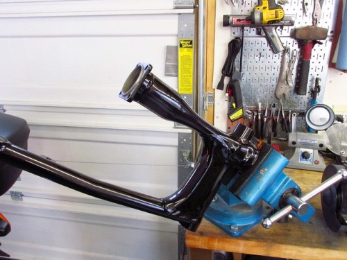 Swing Arm Over Drive Shaft