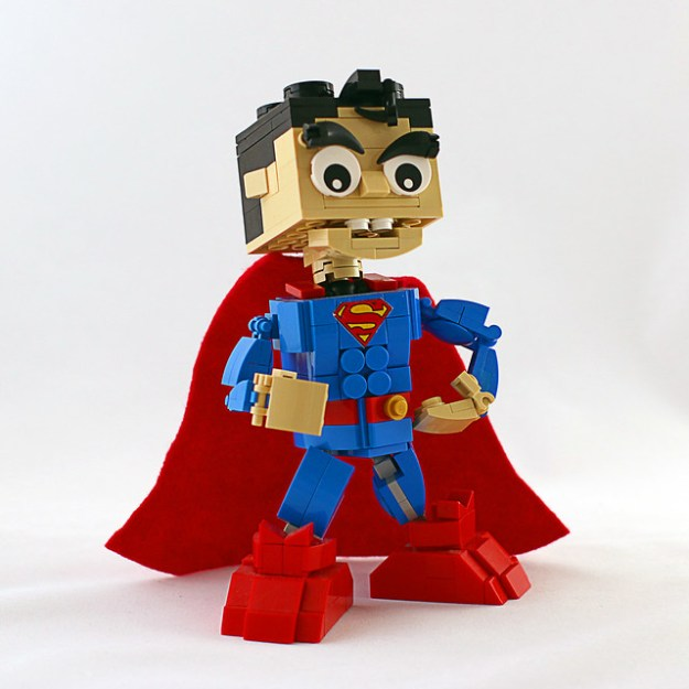 Superman Deluxe Brickhead
