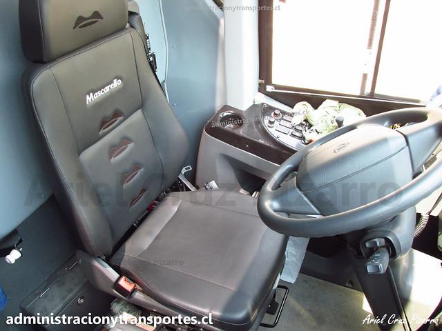 Buses Nilahue | Cabina | Mascarello Roma 370 - Volvo / JJJC29