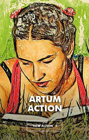 Painting Art - Painting Photoshop Action - 23