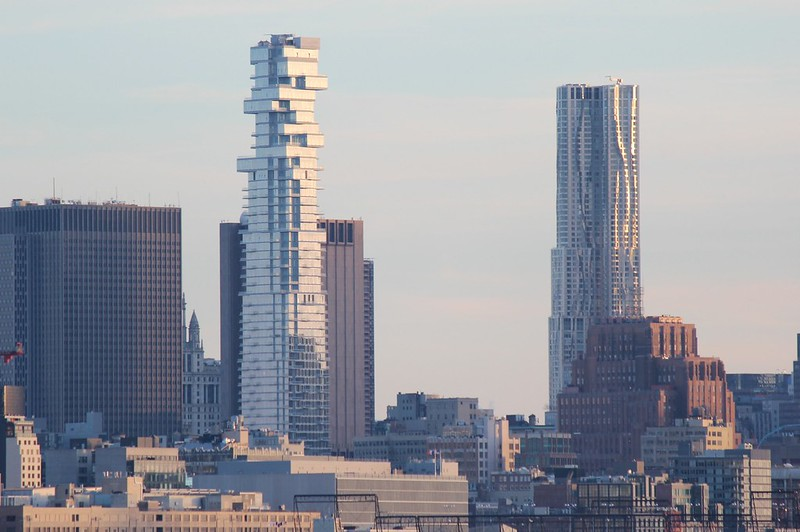 53 Leonard St & New York By Gehry