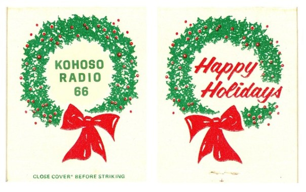KoHoSo Radio 66 'Happy Holidays' fan art